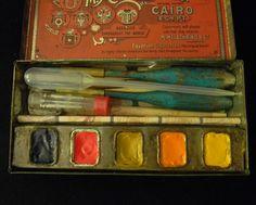 111 Best Watercolour sets in vintage tins & boxes images | Painted boxes,  Watercolor palette, Vintage tins
