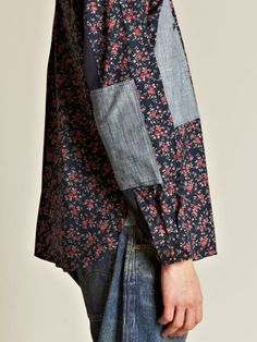 benkb:    thebowtielife:    JUNYA WATANABE MEN'S COTTON TWILL FLORAL PATTERNED SHIRT // LN-CC  must cop for v floral life
