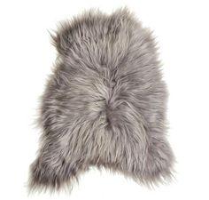 Icelandic Sheepskin Hide - Grey