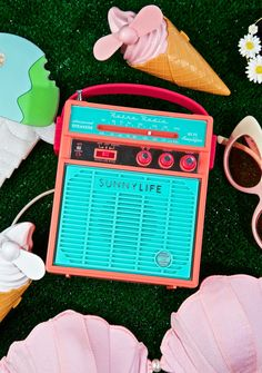 Now & Then Portable Speaker knock three times on the ceiling if you want us, bb! Blast yer tunes wherever you want with this retro portable AM/FM radio featuring MP3 speaker and bass, built in amplifier, and it works with any smart phone or tablet!