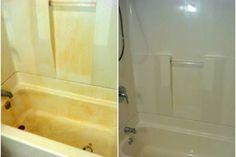 13 Simple Bathtub Cleaning Tips for Totally Gunky Tubs - Cleaning Hacks Bathtub Cleaning Tips, Clean Bathtub, Bathtub Drain, Bathroom Cleaning, Deep Cleaning, Cleaning Hacks, Bathroom Drain, Bathrooms, Plastic Bathtub