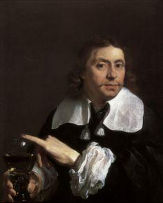 Karel Dujardin · Autoritratto con coppa · 1662 · Collezione privata