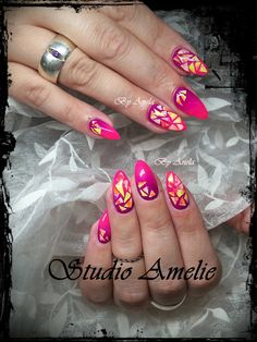 Summer cocktail pink gradient nails by @furiousfiler - Nailpro
