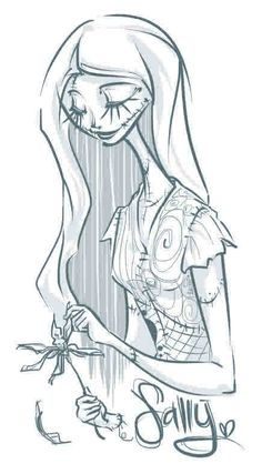 nightmare before christmas pin up - Buscar con Google