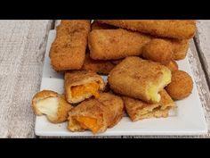 Rántott sajt ami nem folyik ki / Anzsy konyhája - YouTube French Toast, Breakfast, Ethnic Recipes, Youtube, Food, Meal, Eten, Meals, Youtubers
