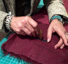 Tips for Sewing with Faux Fur by Kenneth King - cut the fake fur