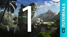 Titans - Earth  - Matte painting Tutorial Part 1 (#Photoshop)   Creative...