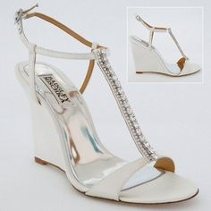 wedge wedding shoes love these