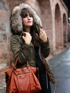 The Green Parka | Pieces of Mariposa
