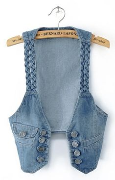 New Hot Casual Women Denim Vest Jacket Sleeveless Jean Coat Vest Shirt Tops_Jackets & Coats_TOPS_CLOTHING_The Latest Trends & Fashion Clothing For Women Online Store-www.dressin.com