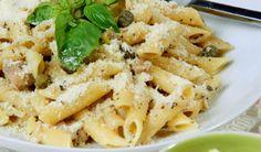 Penne so smotanovou omáčkou Penne, Pasta Salad, Macaroni And Cheese, Ethnic Recipes, Food, Crab Pasta Salad, Mac And Cheese, Essen, Meals