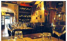 La Carbonara restaurant, Rome, Italy.  Reservations required.  Menu in italian, no english translation.  A jewel!