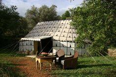 El Glamping es la unión de los conceptos Camping y Glamour. Esta práctica de turismo está cada vez esta más extendida,nada común a los típicos Campings