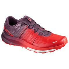 S/LAB ULTRA Running shoes. It blends long-distance comfort, precise fit, and grip with a graphic treatment #men #shoes #footwear #red #shoe