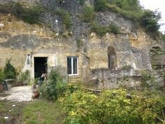 This Converted Cave in France Cost $1.35 - amazing that they could make the inside look so modern.