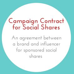 Congratulations! You were hired to create sponsored content on your social media channels for a brand. Now it's time to get your contract in place so you can start your social shares! This template will help you define your deliverables, set payment schedules and lay out both yours and your client's legal rights. The template includes terms for, among other things, intellectual property rights, confidentiality, and indemnity. You'll be able to rest easy knowing exactly what's expected and…