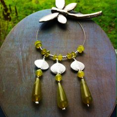 Jade and Sterling  Silver necklace from the collection Kew Gardens www.chokerbali,com
