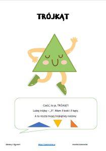 Figury - zadania i zabawy dla przedszkolaków - Pani Monia Math Worksheets, Diy And Crafts, Chart, Education, School, Speech Language Therapy, Onderwijs, Learning