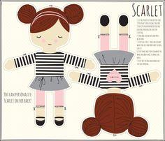 SCARLET fabric by stacyiesthsu on Spoonflower - custom fabric