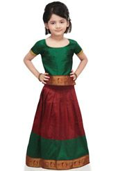 girl kids indiantraditional wear