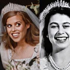 English Royal Family, British Royal Families, Royal Wedding Gowns, Royal Weddings, Princess Beatrice Wedding, Princesa Beatrice, Windsor, Queen Elizabeth, Queen Mary
