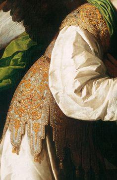 Francisco de Zurbarán The Annunciation - . Detail.