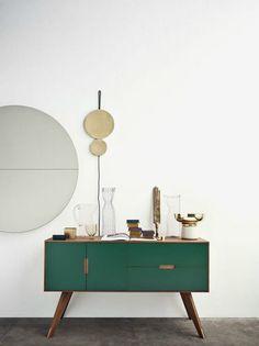 mueble verde