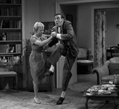 Gomer Pyle dances with Mary Grace Gossage.