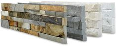 Norstone's Natural Stacked Stone Thin Veneer Wall Panels
