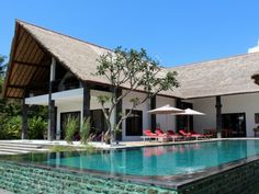 Villa Anandita In Sira Beach, Lombok. See More. Front View With Infinity  Pool