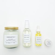 Browse the best beauty finds on Etsy from @stylecaster | Soy Candle in Fig + Melon, the All Natural Room Spray in Rose + Bergamot, the 100% Vegan Refresh Facial Oil, and the Vegan Rose Lip Balm, $8–$30; at Hopscotch London/Etsy