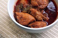 Belize - stewed chicken