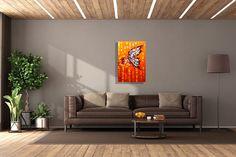 modern butterfly art by artist laelanie larach