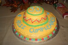 sombrero cakes Graduation Cupcakes, Stress Reliever, Mexican Party, Fiesta Party, Little Monkeys, Grad Parties, Love Cake, Yummy Cookies, Cake Art
