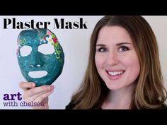 The Plaster Mask Tutorial - YouTube