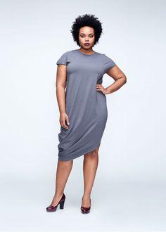 Geneva Dress - Grey – Universal Standard