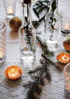 Havunoksat maljakossa tai köynnöksenä luovat kotiin talvista tunnelmaa ja ihanaa tuoksua. Katso Unelmien Talo&Kodin ideat havukoristeisiin.