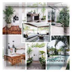 """Villa Styling in INDONESIA"" by defivirda ❤ liked on Polyvore featuring interior, interiors, interior design, home, home decor and interior decorating"