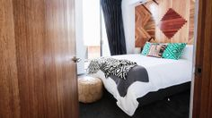 The Block: Room 3 Bedrooms The Block Australia, Kyal And Kara, Holiday Accommodation, Bedrooms, Fans, Parquetry, House, Furniture, Interior Ideas