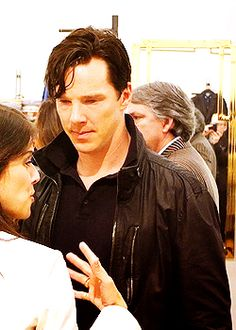 Adore Ben with the 'khan' hair <3