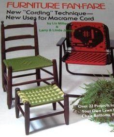 macrame chair -