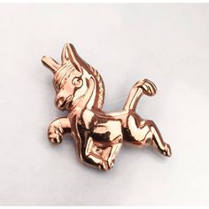 Horse Brooch, Equestrian, Coro Sterling Silver Pony Pin, Vintage... (€20) ❤ liked on Polyvore featuring jewelry and brooches