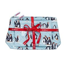 Penguins Quilted Washbag Gift Set | CathKidston