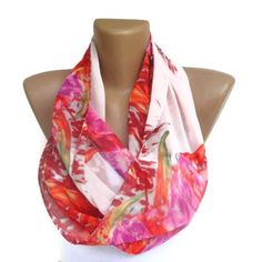 infinity scarves for women | infinity scarf, summer scarf, women eternity scarf, loop scarf ...