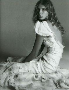 Daria Werbowy photographed by Greg Kadel