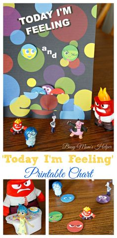 'Today I'm Feeling' Printable Emotion Chart