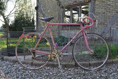 Le vélo avant tout nettoyage...