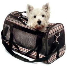 Sac de transport chat et chien style anglais