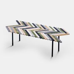 Zig Zag Marble Coffee Table - Large