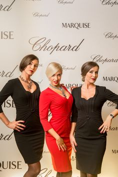 Chopard Red Carpet Collection event - Budapest, 2015 Chopard, Budapest, Red Carpet, Peplum Dress, Models, Collection, Dresses, Design, Fashion